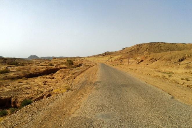 Droga dojazdowa do Aït Benhaddou