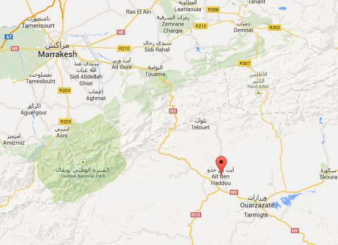 Ait_benhaddou_mapa