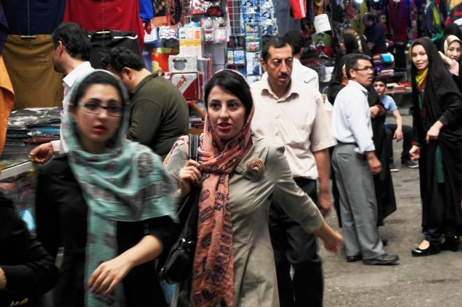 Bazaar w Teheranie